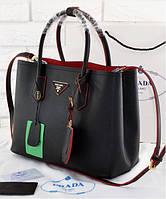 Женская сумка PRADA CUIR DOUBLE BAG (6930)