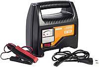 ✅ Зарядное устройство для автомобильного аккумулятора (стрелочное) 6-12В, 220V Miol 82-005