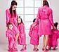 """Женский домашний махровый халат с вышивкой в больших размерах 071-3 """"Princess"""", фото 2"""