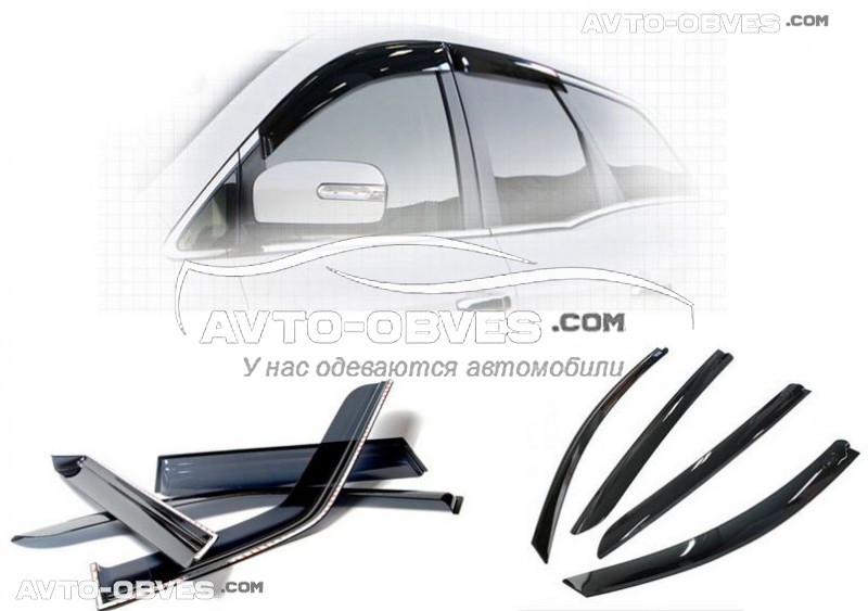 "Ветровики на окна для Suzuki Grand Vitara 2011 - 2019 ""SIM"""