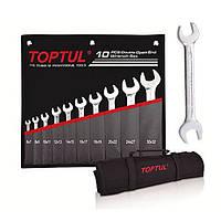 ✅ Набор рожковых ключей 10 шт. 6-32 TOPTUL GPCJ1001