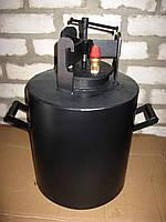 Домашний автоклав газовый для консервирования 30 л на 24 поллитровых и 11 литровых банок