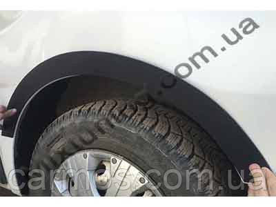 Накладки на колесные арки Рено Трафик (Trafic) 8 шт. ПЛАСТ, Турция