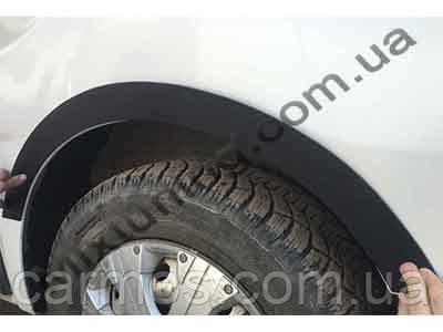 Накладки на колісні арки Опель Віваро (Opel vivaro) 4 шт. ПЛАСТ, Туреччина