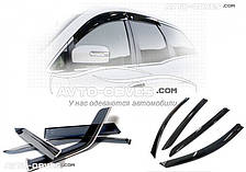 Дефлекторы окон (ветровики) Porsche Cayenne 2010-2014