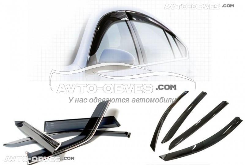 "Ветровики на окна для Audi A4 Sd 2007-2011 ""SIM"""