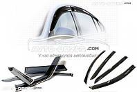 """Дефлекторы окон (ветровики) для Honda Civic 2006-2012 Sedan """"SIM"""""""