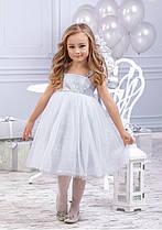 Платье серебристое Silver  Зиронька (4040-1)