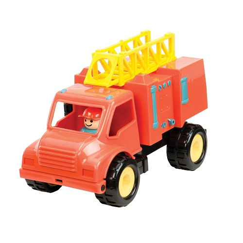 Пожарная машина Первые машинки, с фигуркой «Battat» (BT2451Z)