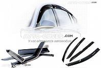 """Дефлекторы окон (ветровики) для Toyota Camry V40 """"SIM"""""""