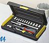 """✅ Набор инструментов 17ед 1/4"""" MicroTough STANLEY 2-85-582"""