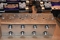 Плита монтажная импортная 4-х секционная Cetop 3