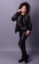"""Женский зимний костюм """"Luxury"""" - тройка на синтепоне большого размера 38-82, фото 3"""