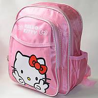 Детский рюкзак hello kitty нежно розовый бантик