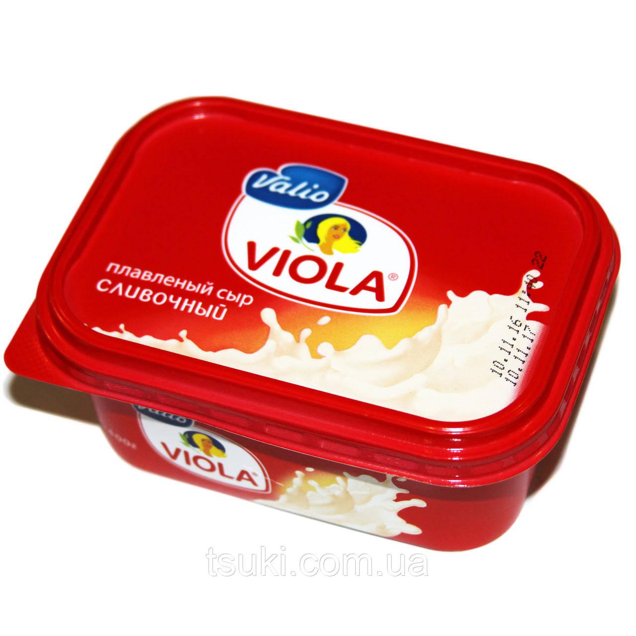 Сыр плавленный сливочный Виола 60% 400г  Финляндия