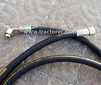 Гидравлический шланг длинной 2,5 м для переднего гидроцилиндра мототрактора, трактора, мотоблока