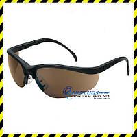 Защитные очки MCR Safety Klondike, коричневые  линзы (США)