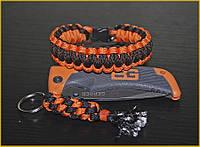 Паракордовый браслет Выживания Оранж