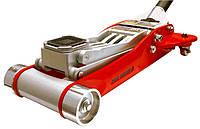 Домкрат подкатной алюминиевый 3,0т HEAVY DUTY низкопрофильный с двойной помпой 100-465 мм T830002L