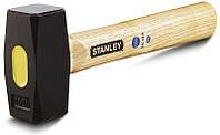 "✅ Молоток-кувалда 1250г ""Club Round"" с деревянной рукояткой  STANLEY 1-54-052"