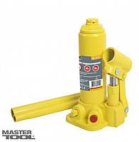 Домкрат гидравлический бутылочный  5 т, 216-413 мм в пласт. кейсе Mastertool 86-1050