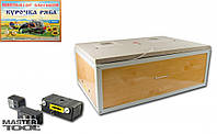 Инкубатор бытовой 60 яиц, автоматический переворот, пласт. 400*600*24 мм Mastertool 92-0816