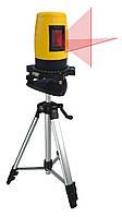 Уровень лазерный самонастраивающийся кейс + тренога Mastertool 30-0904