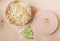 Подарочный тубус с сеном большой, Д165хВ65мм, фото 1
