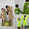 Детский махровый халат Зайка с ушками ,Турция ,2,4,6 лет