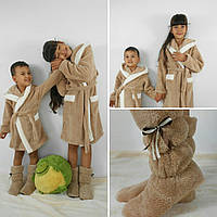 Детский махровый халат Зайка с ушками ,Турция