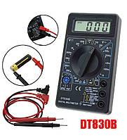 Мультиметр цифровой DT-830B «крона» 9В идет в комплекте