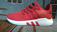 Мужские беговые+повседневные кроссовки Adidas Equipmentкрасные