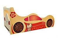 Кровать детская Автомобиль 1590 /936 (матрас 1500 мм.)+Кромка Т-резиновая (Серия Форсаж)