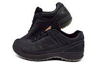 Мужские туфли спортивные кожаные Ecco Natural Motion Black, фото 1