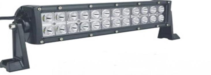 Фара диодная 2 А 180 W  Ближний + Дальний свет (1 шт.) (шт.), фото 1