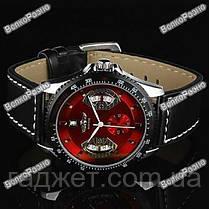 Мужские часы механические WINNER RED SKELETON с Автоподзаводом, фото 2
