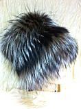 Женская шапка из меха блюфроста  барбара голд, фото 3
