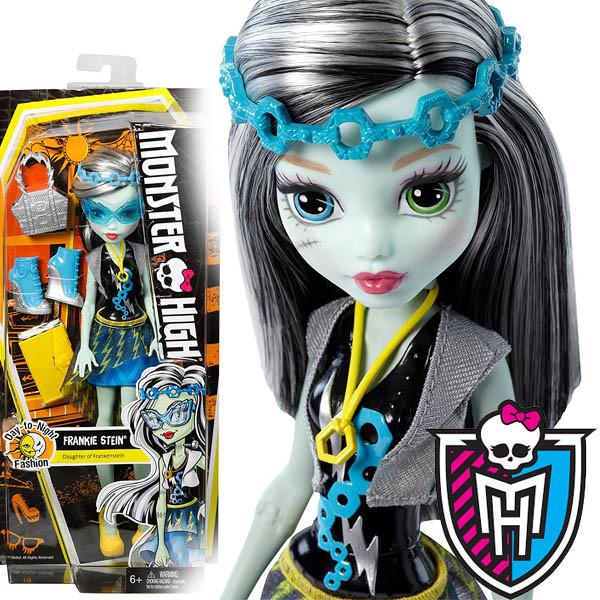 Кукла Монстер Фрэнки Штейн Модницы и днём и ночью, Monster High Day-To-Night Fashions Frankie Stein