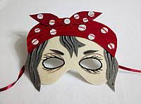 Карнавальная маска Баба Яга-2