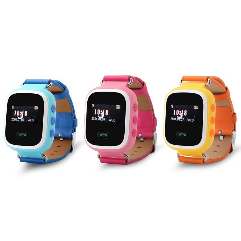 Умные детские часы-телефон Smart Watch с GPS трекером GW900 (Q60)