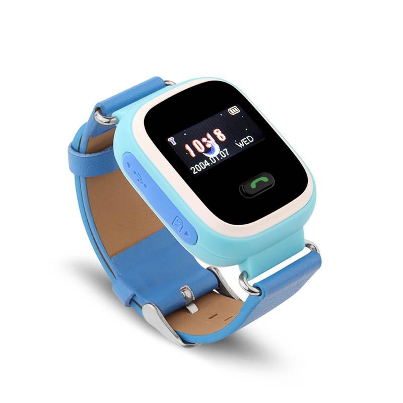 Умные детские часы-телефон Smart Watch с GPS трекером GW900 (Q60) 4