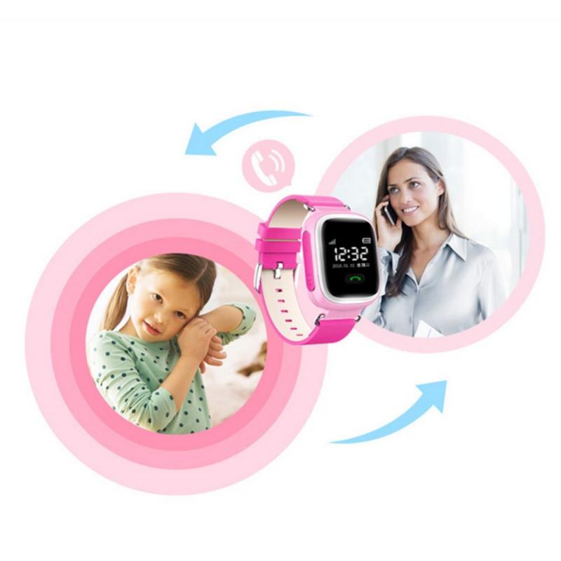 Умные детские часы-телефон Smart Watch с GPS трекером GW900 (Q60) 5