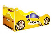 Кровать детская Автомобиль Феррари 1740 /836 (матрас 1700 мм.)+ Т+Ящик (Серия Форсаж)