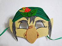 Карнавальная маска Баба Яга