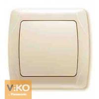 Выключатель крем Viko (Вико) Carmen (90562001)