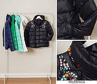Женская модная куртка со стразами(холодная осень-весна)