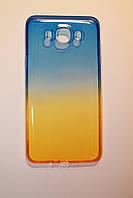 Силиконовый чехол-бампер на Samsung Galaxy J7(J710), модели 2016.