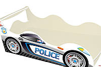 Кровать детская Автомобиль 1640 /836 (матрас 1600 мм.)+Кромка Т-резиновая+ЯЩИК (Серия др