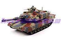 Радиоуправлемый танк Abrams M1A2 Абрамс с пневмопушкой стреляющей снарядами