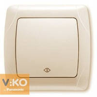 Выключатель реверсивный (промежуточный) крем Viko (Вико) Carmen (90562031)